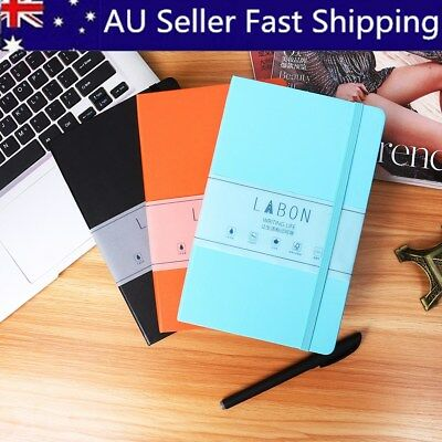 A5 Medium Dotted Grid Notebook Hardcover Diary Journal Travel Business Writing