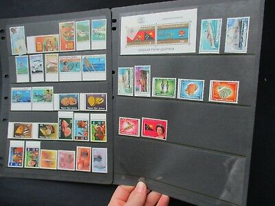 ESTATE SALE:  Papua New Guinea Collection on pages Part 2 - FREE POST (2541)