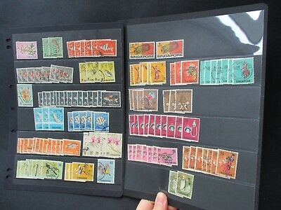 ESTATE SALE: Singapore Collection on pages Part 2 - FREE POST (2552)
