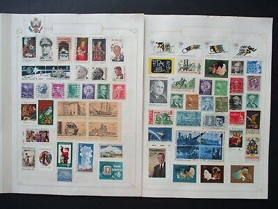 ESTATE SALE: USA Collection on pages - FREE POST (2555)