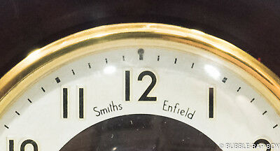 VINTAGE 1950s SMITHS BAKELITE MANTLE CLOCK MADE IN ENGLAND