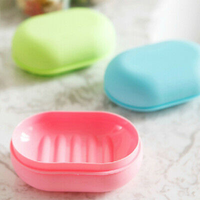 Soap Dish Case Holder Container Box For Home Travel Outdoor Hiking Camping