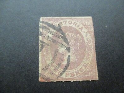 Victoria Stamps: Laid Paper Used  - FREE POST (d98)