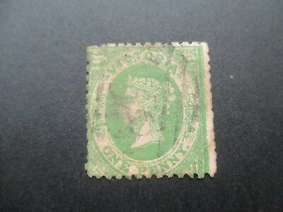 Victoria Stamps: Laid Paper Used  - FREE POST (d100)