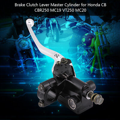 Premium Motorcycle Brake Master Cylinder for Honda CB CBR250 MC19 VT250 MC20 ES