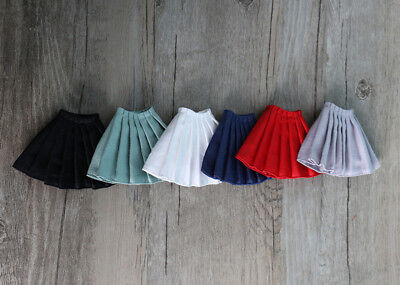 New Blythe Pleated skirt Azone Pleated Skirt Doll Outfit clothes(10 colors)
