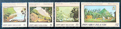 1985 Pitcairn Islands Stamps - 19th Century Paintings 1st Series - Set of 4 MNH