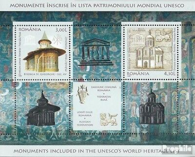 Romania Block431 (complete.issue.) unmounted mint / never hinged 2008 UNESCO-Wel