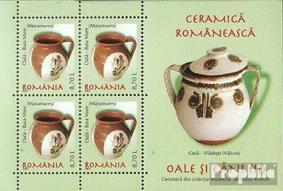 Romania Block415 unmounted mint / never hinged 2007 Romanian ceramics