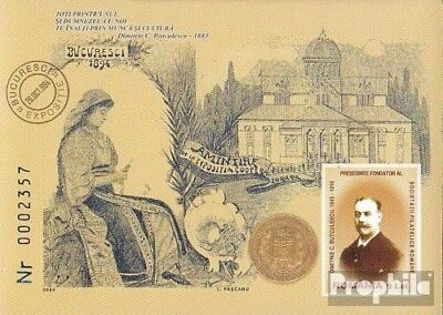 Romania Block364 (complete.issue.) unmounted mint / never hinged 2005 Dimitrie C