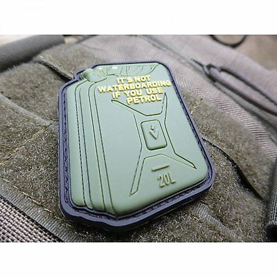 Jtg  For Everybody Petrol Waterboarding, / 3D Rubber Patch