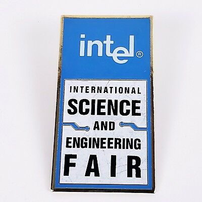 INTEL ISEF Science Engineering Fair Hi-Tech-Computer Ad Pin