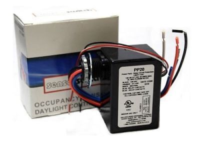 Sensor Switch PP20 Power Pack 120/277 VAC 50/60Hz, 24 VDC Output 20A New 184CHH
