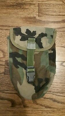 USMC Woodland  Entrenching E-Tool Carrier Pouch MOLLE II