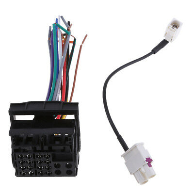 CAR RADIO STEREO CD PLAYER WIRING HARNESS for VW Radio Stereo ... on car audio power supply, car audio voltage regulator, car audio batteries, car audio cover, car audio lights, car audio resistor, car audio speaker, car audio fan, car audio fuse, car audio mounting hardware, car radio wiring diagram, car audio controller, car audio compressor, car electrical system diagram, car stereo harness installation, car audio remote control, car audio battery box, car audio engine, car audio switches, car audio computer,