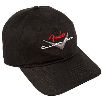 NEW Genuine Fender Custom Shop Baseball Cap, One Size #910-6635-306