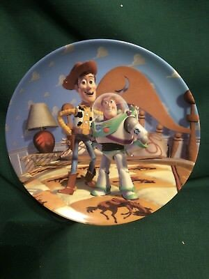 Disney TOY STORY Bradford Exchange Collector Plate Friends at Last