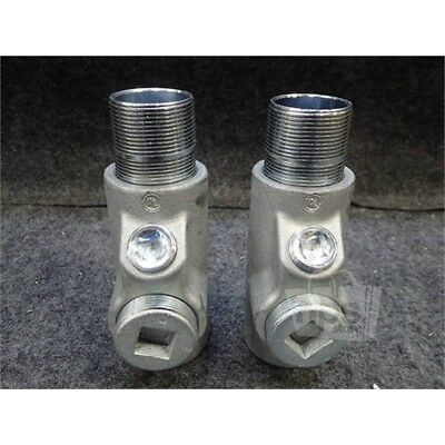Lot of 2 Crouse-Hinds EYS56 Hazardous Location Conduit Fitting, 1-1/2""