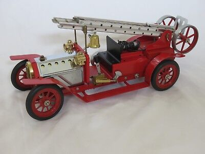 Mamod steam fire engine model FE1, unused, complete with box, superb condition.