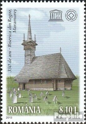 Romania 6751 (complete.issue.) unmounted mint / never hinged 2013 wooden church