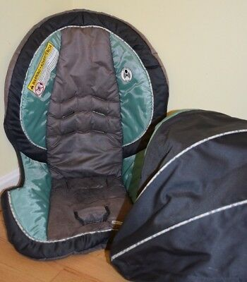 Graco SnugRide 35 Classic Connect Infant Car Seat Cover Replacement Canopy Grace