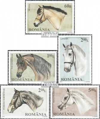 Romania 6439-6443 (complete.issue.) unmounted mint / never hinged 2010 Horses