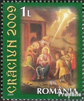 Romania 6401A (complete.issue.) unmounted mint / never hinged 2009 christmas