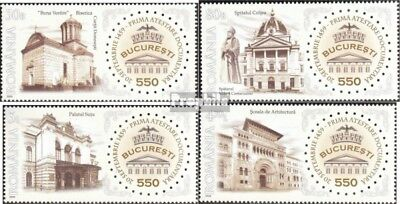 Romania 6393-6396 (complete.issue.) unmounted mint / never hinged 2009 550Jahre