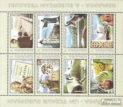 Romania 6385I-6392 Sheetlet (complete.issue.) unmounted mint / never hinged 2009