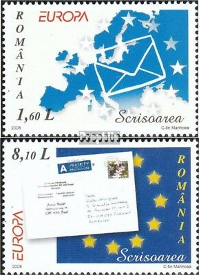 Romania 6294-6295 (complete.issue.) unmounted mint / never hinged 2008 Europe -