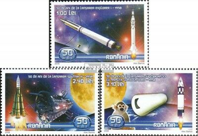Romania 6273-6275 (complete.issue.) unmounted mint / never hinged 2008 50Jahre S