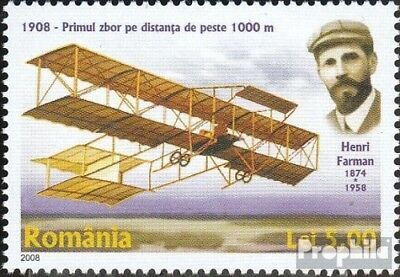 Romania 6268 (complete.issue.) unmounted mint / never hinged 2008 FlugpionierHen