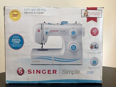 NIB SINGER SIMPLE 40 40 BuiltIn Stitches Mechanical Sewing Cool Singer Zigzag Sewing Machine 2263