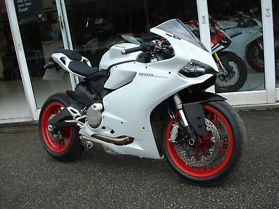 Ducati 899 Panigale, Pearl White, Termi Exhaust, Lots Of Extras, F.s.h