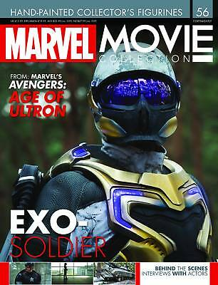 Eagle Marvel Movie Collection #56 Exo-Soldier Figurine Avengers: Age of Ultron