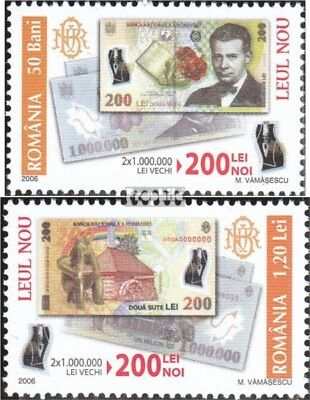 Romania 6154-6155 (complete.issue.) unmounted mint / never hinged 2006 banknote
