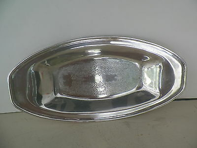 Vintage Silverplated Gildhall 12 3/4'' Tray*no Reserve