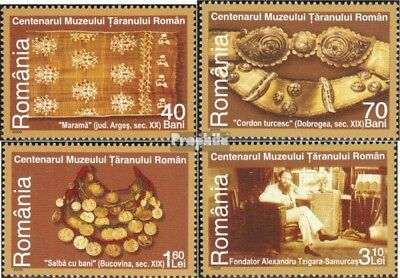 Romania 6129-6132 (complete.issue.) unmounted mint / never hinged 2006 Bauernmus