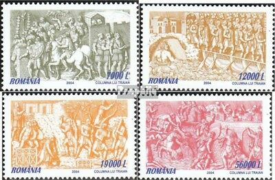 Romania 5870-5873 (complete.issue.) unmounted mint / never hinged 2004 relief ba