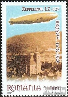Romania 5849 (complete.issue.) unmounted mint / never hinged 2004 Airship Zeppel