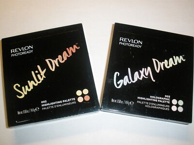 New Revlon Photoready Highlighting Palette Quad Choose Your Color Collection!