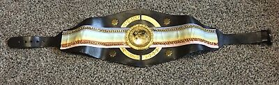 Ring Won Commenwealth Boxing Belt