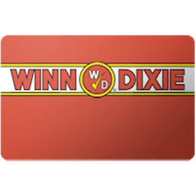 Winn Dixie Gift Card $10 Value, Only $9.85! Free Shipping!