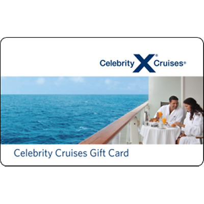 Celebrity Cruises Gift Card $50 Value, Only $39.00! Free Shipping!