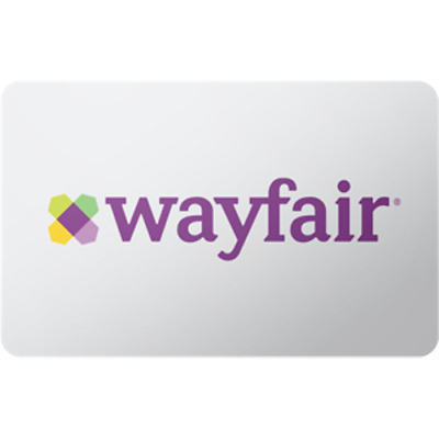Wayfair Gift Card $50 Value, Only $48.00! Free Shipping!