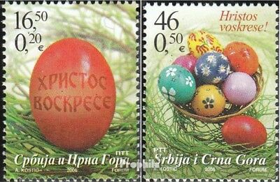 Yugoslavia 3315-3316 (complete.issue.) unmounted mint / never hinged 2006 Easter