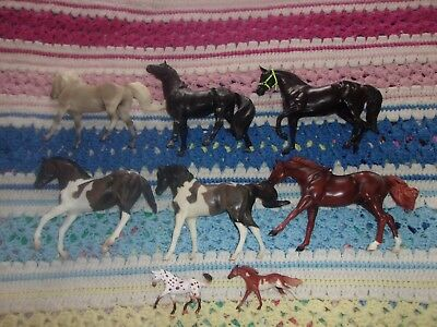 breyer horse lot of classics and stablemates