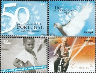 Portugal 2978-2981 (complete.issue.) fine used / cancelled 2005 50 years UN Memb