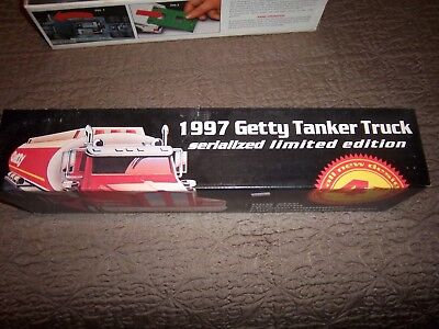 1997 Getty Tanker Truck NEW In Box Limited Edition