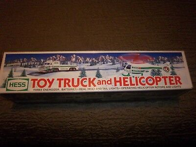 Hess Toy Truck & Helicopter NEW In Box